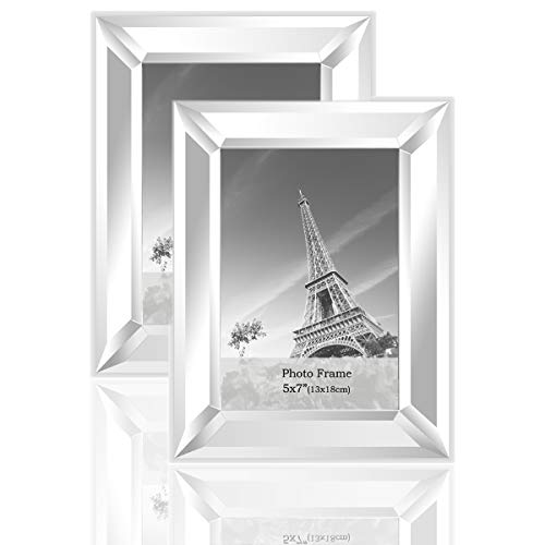 ture Frame 5x7inch 2 Piece Pack for Home Decoration Wall Hang or Tabletop Display ()