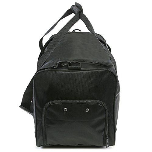 """41eKrUkxguL - Perry Ellis 22"""" Weekender Duffel Bag, Black"""