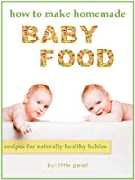 How To Make Homemade Baby Food Front Cover