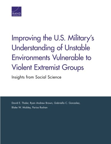 Improving the U.S. Militarys Understanding of Unstable Environments Vulnerable to Violent Extremist Groups: Insights from Social Science