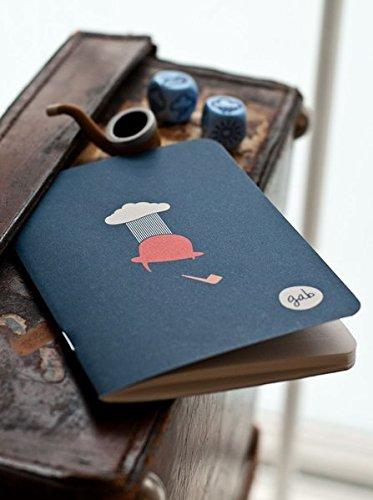D.ON Notebook London  Notizheft Mit London Motiv