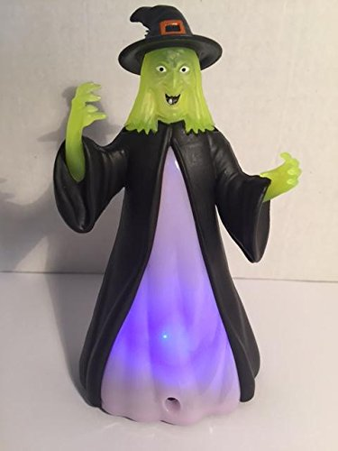 Halloween Light and Sound Witch Lights Up and Motion Activated -