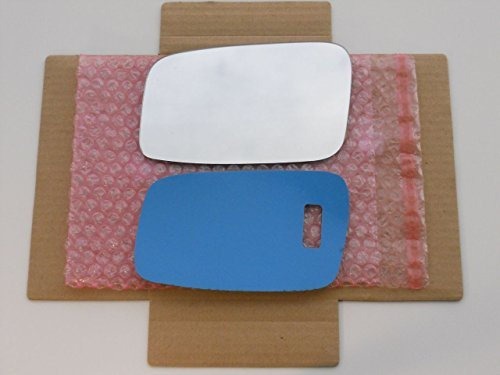 New Replacement Mirror Glass with FULL SIZE ADHESIVE for Volvo 850 C70 S40 S70 V40 V70 Driver Side View Left LH