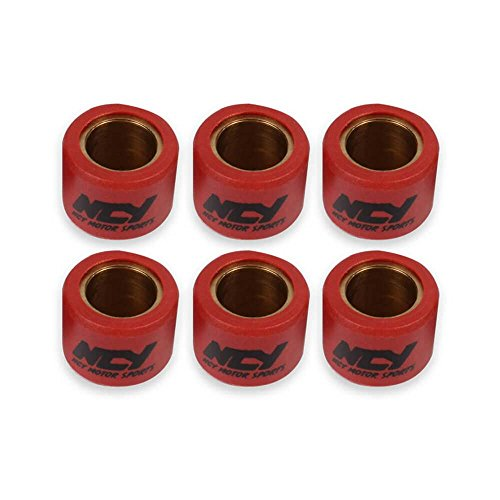 NCY [10 gram set] Variator Roller Weights (18 x 14) for GY6 and Genuine Scooters NCY ()