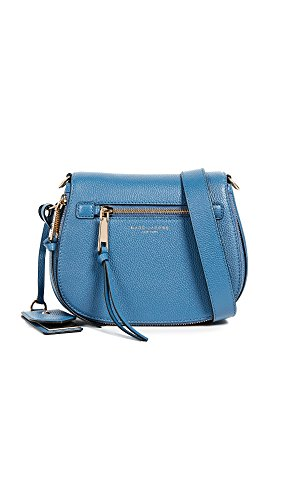 Marc Jacobs Women's Small Nomad Cross Body, Vintage Blue, One Size by Marc Jacobs