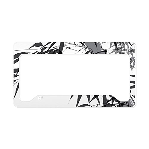 license plate frame asian - 3