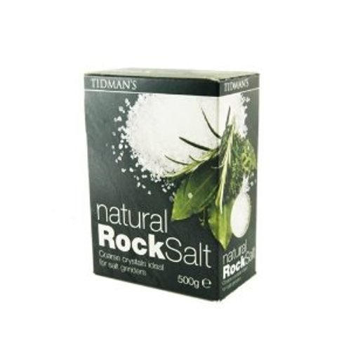 Tidman's Rock Salt, Natural, 17.63-Ounce (Pack of 6) by Tidmans