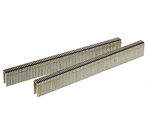 Senco L08BAB 18 Gauge by 1/4-inch Crown by 1/2-inch Electro Galvanized Staples (10,000 per box) by Senco