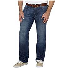 DKNY Jeans Mens SOHO Relaxed Straight Leg Classic 5 Pocket Jean Pant