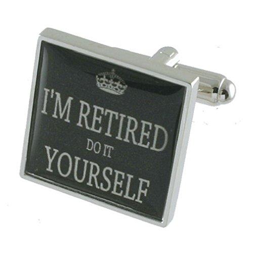 Brassard liens faire vous-même à la retraite personnalisée gravée texte fort