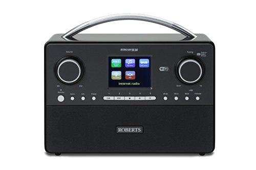 Roberts Radio Stream93i DAB/DAB+/FM RDS and WiFi Internet Radio with Three...
