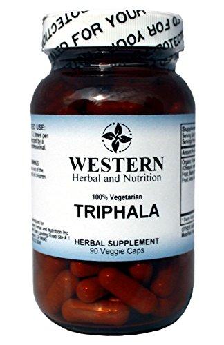 Western Herbal Triphala - 90 Veg. Capsules