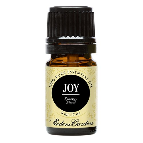Joy (100% Pure, Undiluted Therapeutic/Best Grade) Premium Aromatherapy Oils by Edens Garden- 5 ml