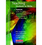 img - for [(Teaching Students to Write: Argument)] [Author: Peter Smagorinsky] published on (November, 2011) book / textbook / text book