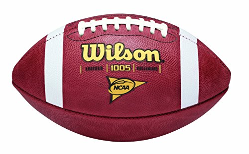 Wilson 1005 NCAA Leather Game Football (Leather Wilson Football)