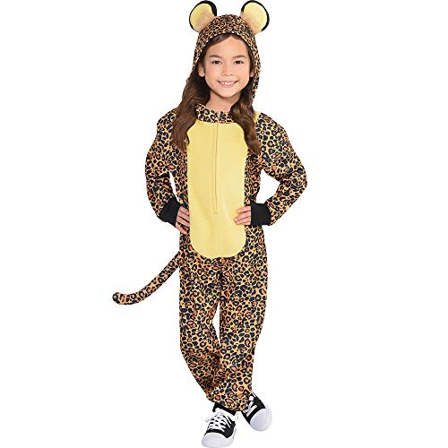 Leopard Zipster Suit - Toddler (3-4)]()