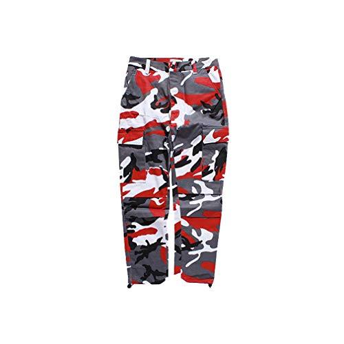 Meihaowei Violet Hommes Pantalon Femmes Jogger Survêtement Cargo Pantalons Streetwear Rouge Rose Pants Pant Camouflage Camo Gris rCwwqId6y