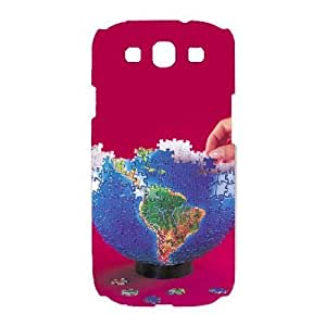 Plastic Durable Cases Rlgjn Jigsaw Puzzle For Samsung Galaxy S3 I9300 Cover Cell phone Case