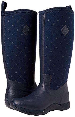 Adventure Print Navy 6 Arctic Castlerock Wellies Muck Boots Womens UK OavnEq