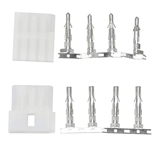 5PCS 4-Pin Plug and Socket Cable Connector Adapter for ICOM Antenna Tuner ()