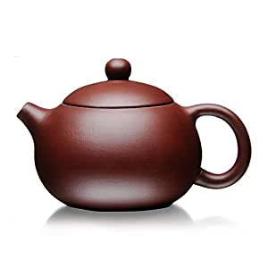 XDOBO Yixing Purple Clay Teapot, Full Handmade Teapot, Undressed Ore Archaize Tea Pot- 200ml