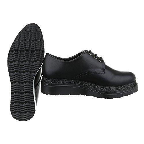a6a395e7 Ital-Design - Zapatos Planos con Cordones Mujer Chic - www.egqshop.top
