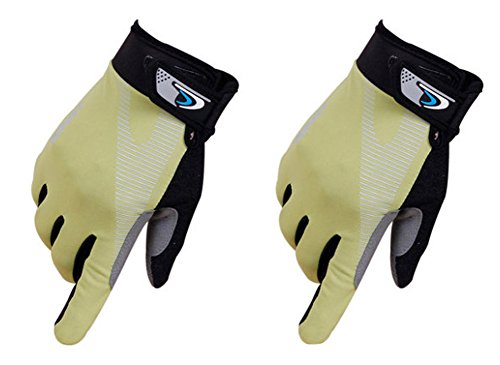 Perfect for Summer Use Climbing Gloves Outdoor Sport Gloves Gym Gloves Green