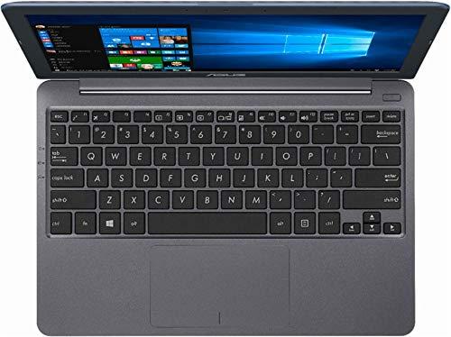 "Asus Vivobook E203MA Thin and Lightweight 11.6"" HD Laptop, Intel Celeron N4000 Processor, 4GB RAM, 64GB eMMC Storage, 802.11AC Wi-Fi, HDMI, USB-C, Win 10"