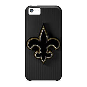 Tpu Case Cover For Iphone 5c Strong Protect Case - New Orleans Saints Design