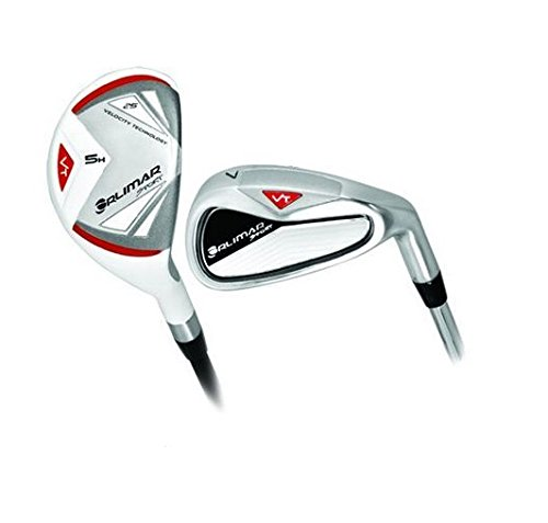 ORLIMAR VT PRO EDITION IRONS SET: MEN'S RIGHT OR LEFT HAND, REGULAR LENGTH:w#4 HYBRID (GRAPHITE) AND U-CUT 5 IRON through PITCHING WEDGE w/STAINLESS STEEL HEADS & SHAFTS: