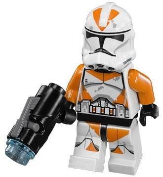 LEGO Star Wars LOOSE Minifigure Utapau 212th Battalion Clone Trooper with Firing Blaster