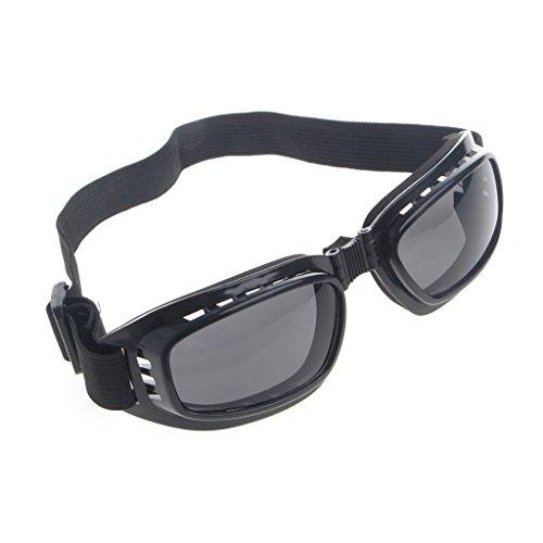 Doober Foldable Safety Goggles Ski Snowboard Motorcycle Eyewear Glasses Eye Protection (Gray, - Glasses Ski Womens