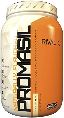 Rivalus Promasil Protein Powder Blend, Natural Vanilla, 2 Pound