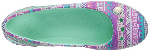 Pictures of Crocs Kids' Genna II Graphic Sparkle Sling- 2