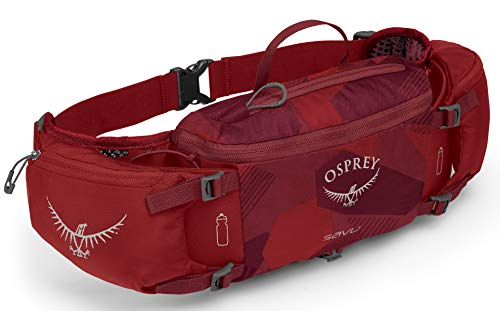 Lumbar Pack - Osprey Packs Savu Lumbar Hydration Pack, Molten Red
