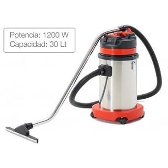 Aspiradora polvo y agua de 30 litros inoxidable: Amazon.es ...