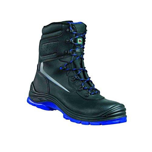 Elysee , Chaussures de sécurité pour homme noir Schwarz, Blau Abgesetzt