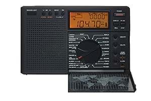 Eton G8 Traveler II Digital - Radio despertador portátil (AM/FM/LW/ondas cortas con ATS), color negro