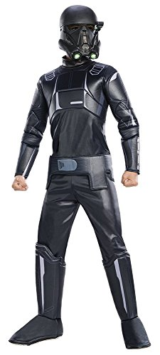 [Rogue One: A Star Wars Story Child's Deluxe Death Trooper Costume, Medium] (Disney Character Dress Ups)