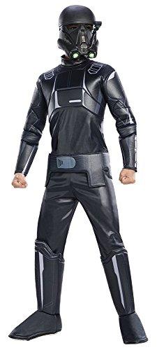 [Rogue One: AStar WarsStory Child's Deluxe Death Trooper Costume, Medium] (Disney Character Dress Ups)