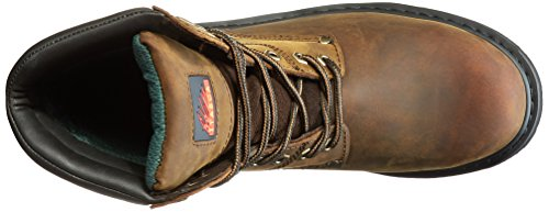 Itasca Mens Force 10 Safety Toe Work Boot Brown