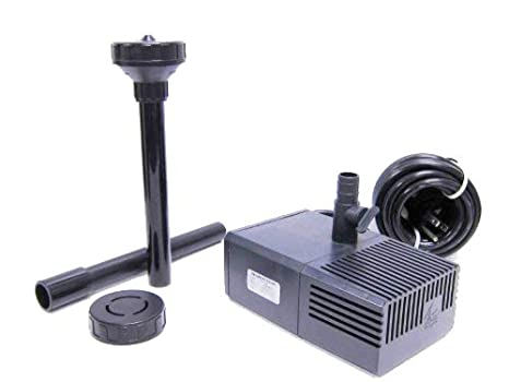 Beckett Small Fountain Pump Kit For Water Garden Pond Container