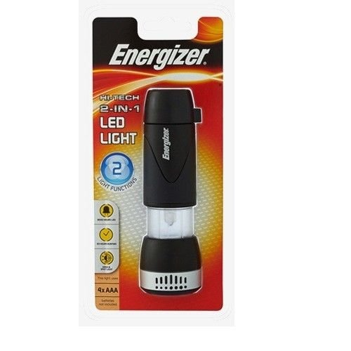 ENERGIZER LED43A1 LED Light Hi-Tech (2 in 1) Light Functions Flashlight Lantern