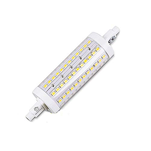 BRIGHTINWD LED R7S Dimmable R7S LED 118mm Bulb 950-1000LM Cool White R7s Replaceable Bulbs with 3 Years ()