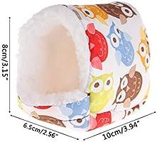 SimpleLife Hamster Sleep Bed, Mezcla Suave de algodón Pet Cave Pet Bed Nest para Hamster Hedgehog Guinea Pig Baby Cat: Amazon.es: Hogar