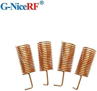 G-NiceRF SW433-TH10 433 MHz 11,3 mm antena de resorte de ...