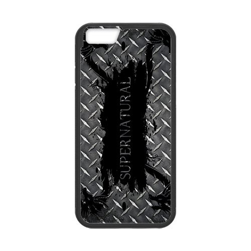 Fayruz- Personalized Protective Hard Textured Rubber Coated Cell Phone Case Cover Compatible with iPhone 6 & iPhone 6S - Supernatural F-i5G721