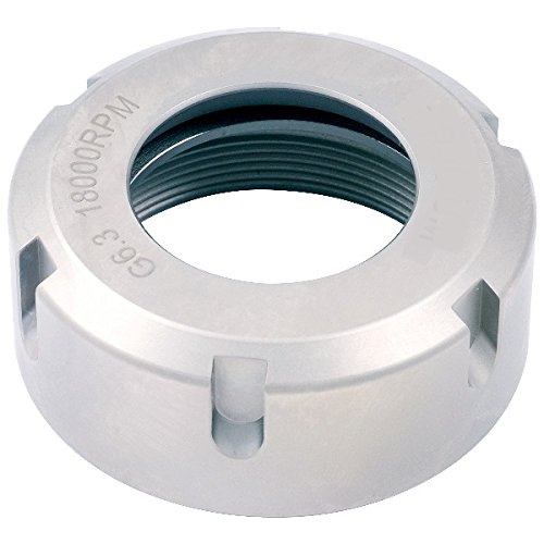 Pro Series by HHIP 3900-0689 Collet Chuck Nut, Um-Type Er20, 18000 Rpm
