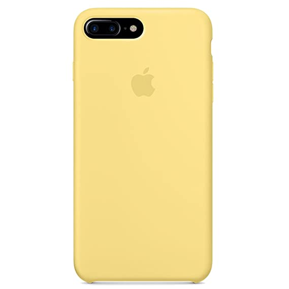 new styles 2e7b5 546f0 Opshell Soft Silicone Case Cover for Apple iPhone 8 Plus (5.5inch) Boxed-  Retail Packaging (Yellow)