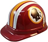 Texas American Safety Company Washington Redskins Hard Hats, ERB Style with Standard Suspension